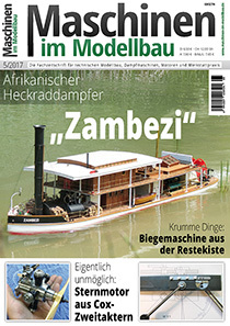 Aktuelle Ausgabe: Maschinen im Modellbau 05/2017